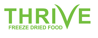 Thrive Glase sèk Manje Logo