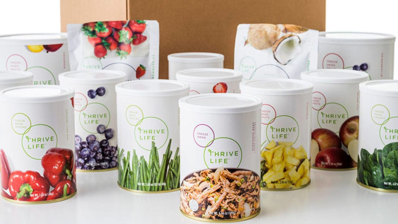 Thrive life products - Best Thrive Freeze Dried Food